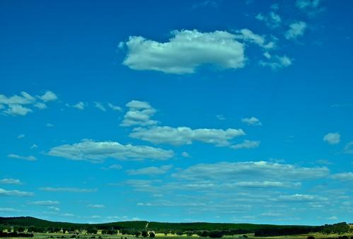 Nuvole e cielo by Arnaldo Pellini