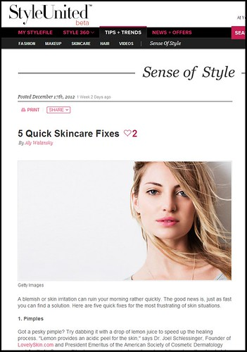 Dr. Joel Schlessinger featured on StyleUnited.com