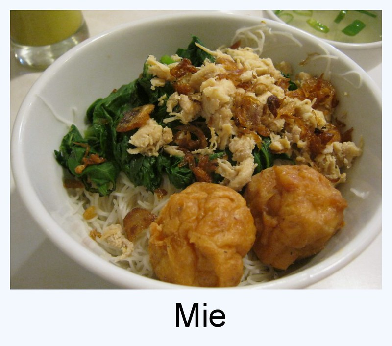 Indonesia mie, noodle