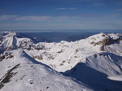 View of Interlaken from Schilthorn