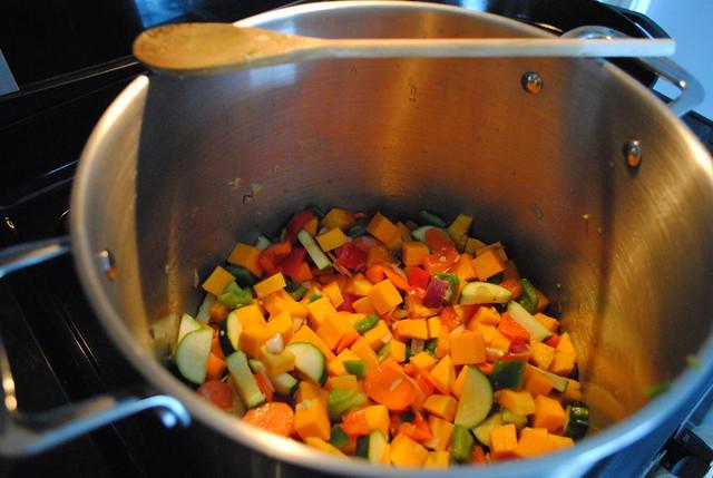 Sautéed Vegetables