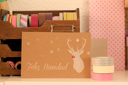 Handmade christmas card 2012