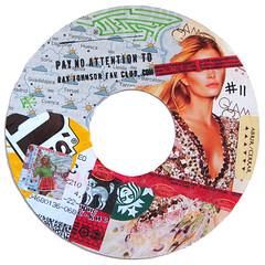 Ray Johnson Fan Club sticker #11