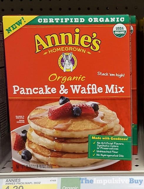Annie's Homegrown Organic Pancake & Waffle Mix