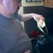 Filling the Burr Grinder, December 2012