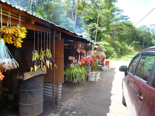 Fruit stall Sabah