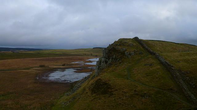 Crag Lough, Hadrians Wall
