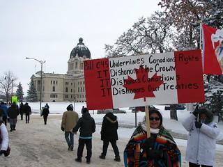 #IdleNoMore Regina