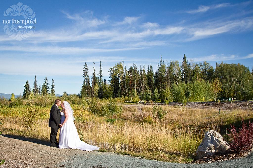 UNBC Wedding Photography Prince George Destination Wedding Northern BC