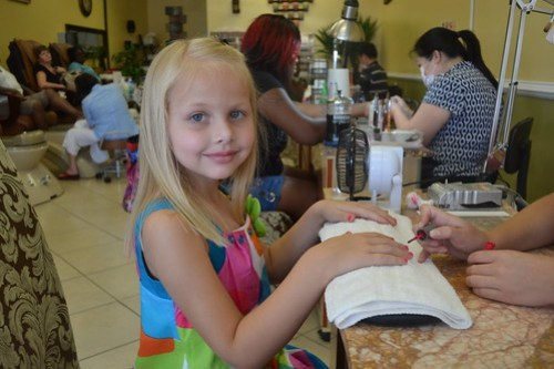 1st manicure