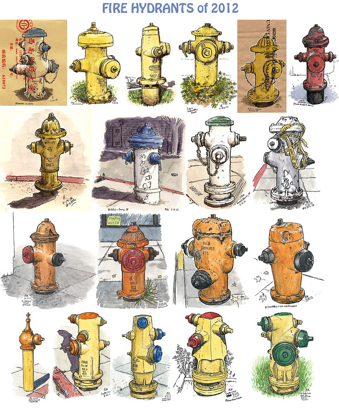 2012 fire hydrants