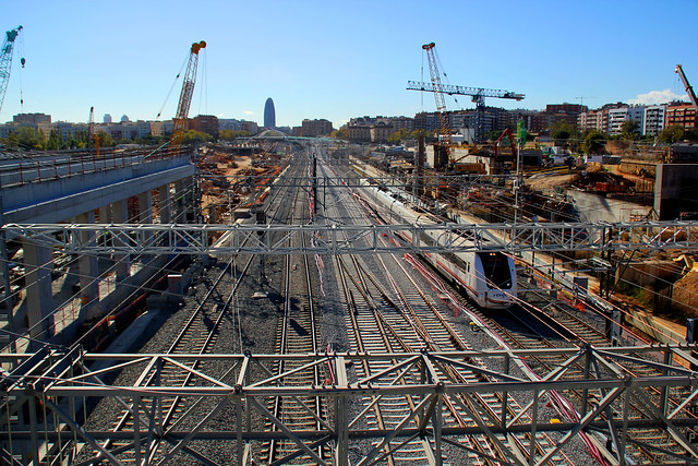 Vista desde el nuevo puente del Trabajo - Sur - 5-12-12 - © Marc Arroyo