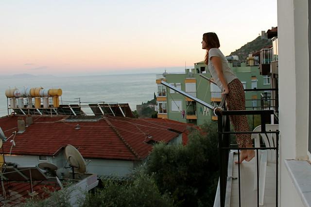 Overlooking the Mediterranean