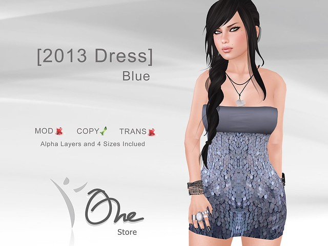 [2013 Dress] Blue