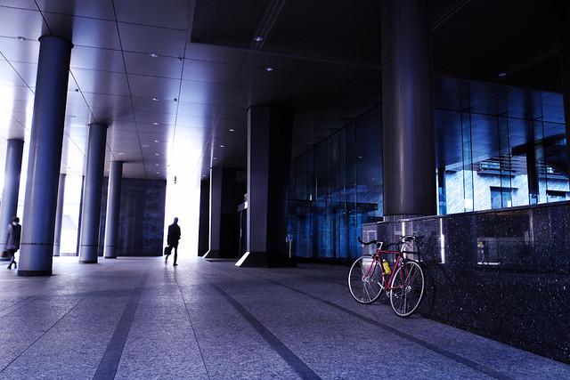 Messenger bike, Tokyo