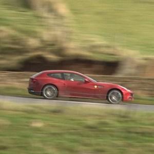 Ferrari FF fun in the UK