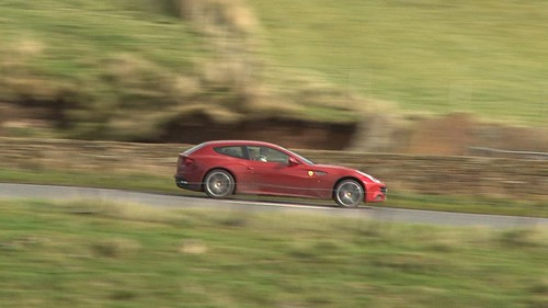 Ferrari FF fun in the UK
