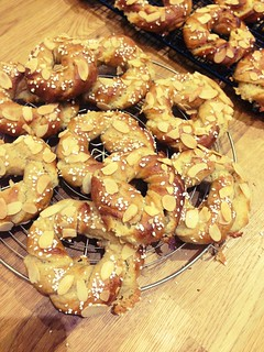 Cardamom almond twists from @scandilicious baking.