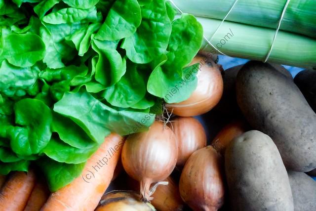 Paniers semaine 51 - Légumes / Baskets Week 51 - Vegetables