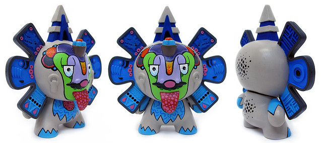 Remix Dunny Series Beast Brothers Azteca II