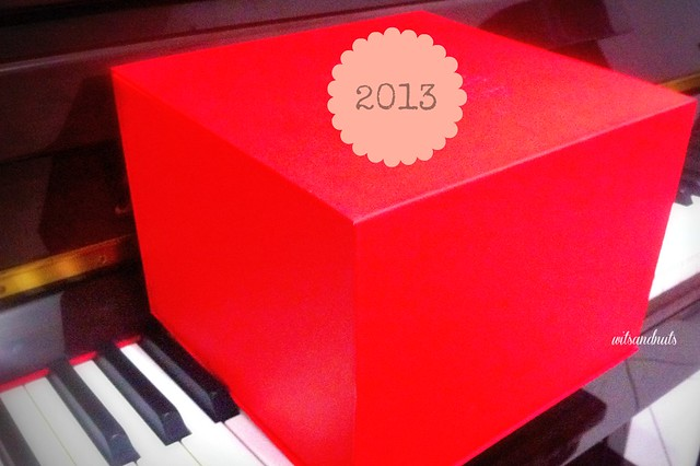 The red box and my 2013 :)