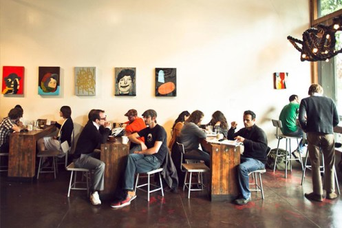 Four Barrel Coffee tables