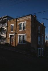 House at bottom of Eliott Row