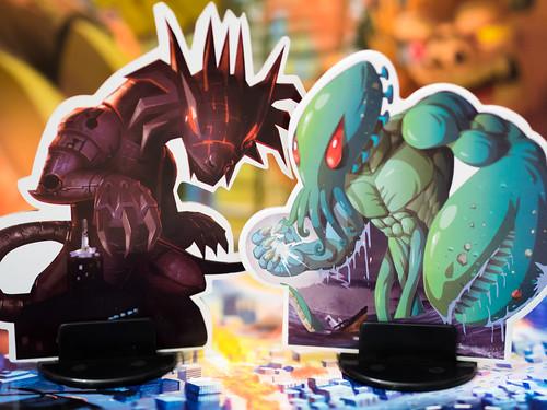Meka Dragon and Kraken