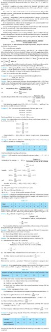NCERT Class IX Maths Chapter 15 Probability