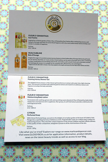 Roger and Gallet flash box card 3