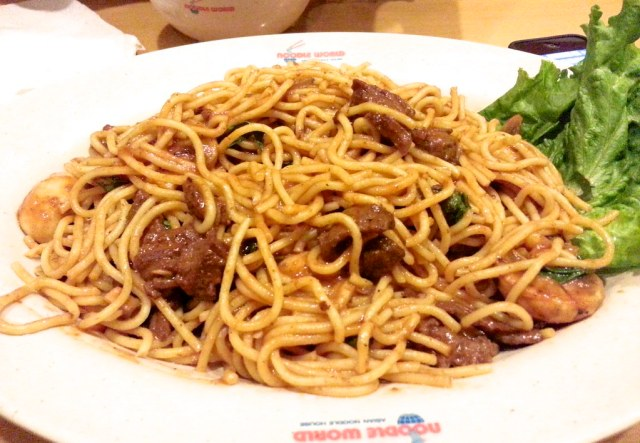 Spicy Spaghetti at Noodle World