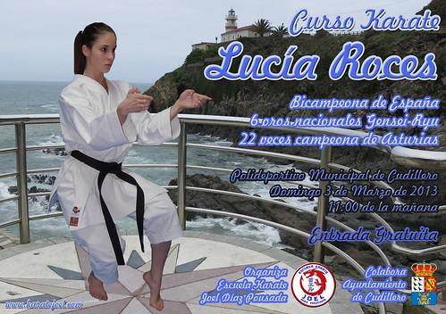 Curso de Karate: Lucía Roces Invernón