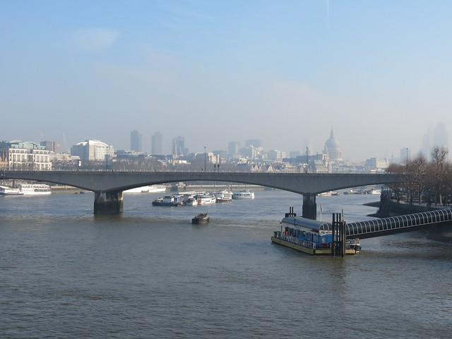 London - from Hungerford Bridge