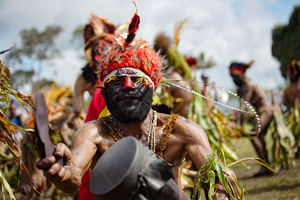 The Goroka Show, PNG.