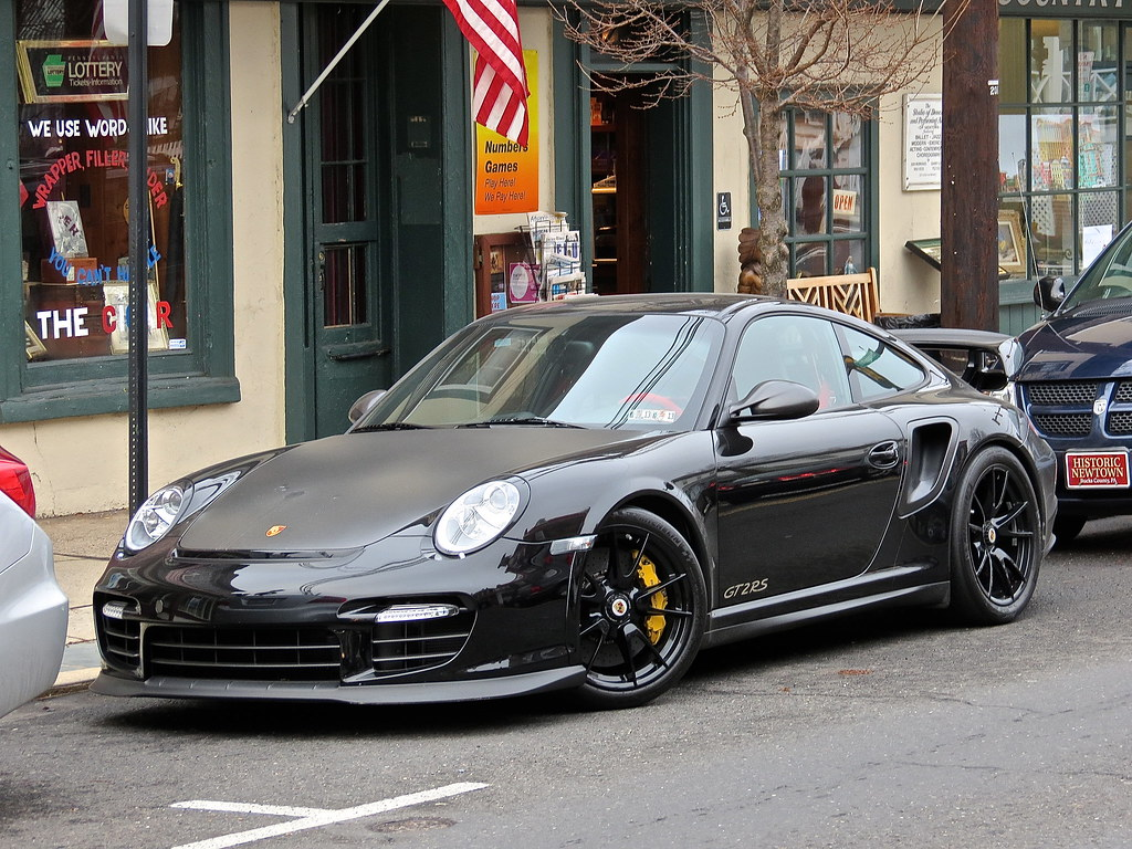 Porsche 997 GT2 RS spotted in Newtown, PA