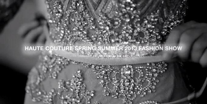 Elie Saab Haute couture SS 13
