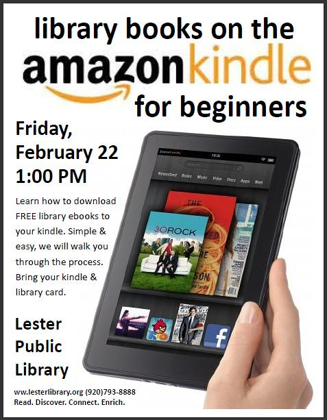Library Books on the Kindle for Beginners