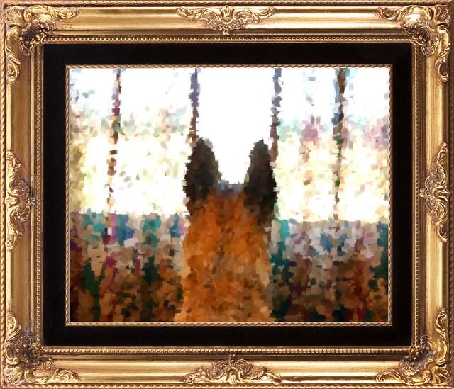 2-12d Dazzle by Oscar Claude Monet