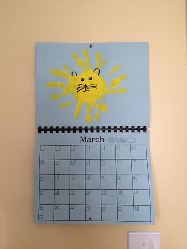 Cora's calendar