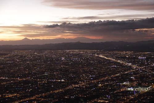 Bogotá desde el Cerro de Monserrate - 6 pm