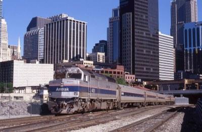 Amtrak F40 in Phase IV