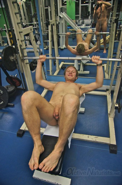 naturist 0007 Gym of Association Naturiste de Paris, Paris, France