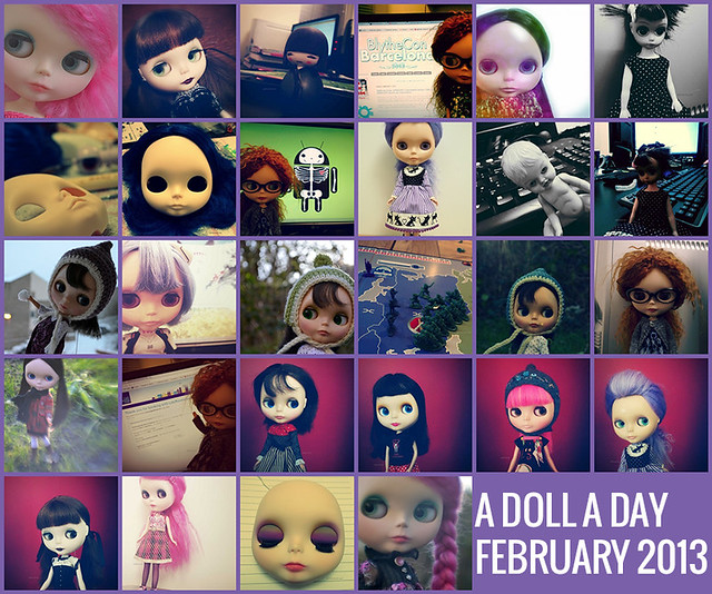 A Doll A Day 2013 - February