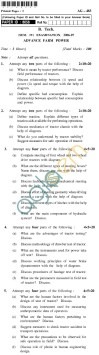 UPTU B.Tech Question Papers - AG-483 - Advance Farm Power