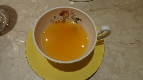 古典玫瑰園_熱水果茶3