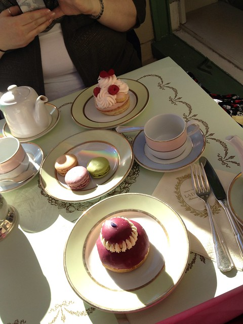 Afternoon Tea and Desserts at Ladurée with Pink_Blaise