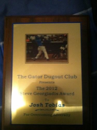 Josh Tobias Award