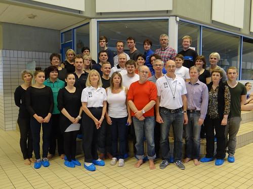Tórshavn 2013 FINA Swimming Official Schools course participants