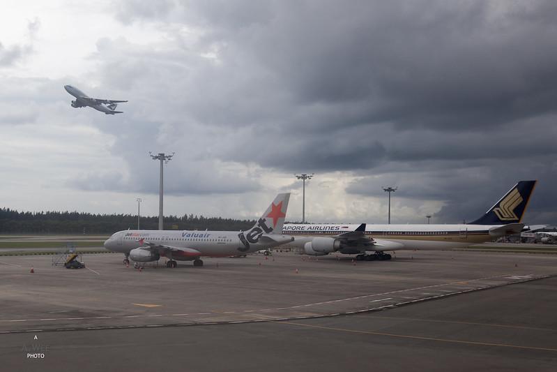 Plane Viewing at Changi