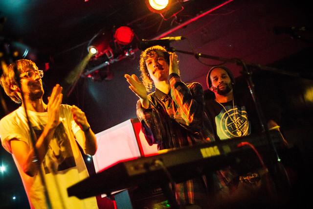 darwin deez @ the echo, LA 3/8/13